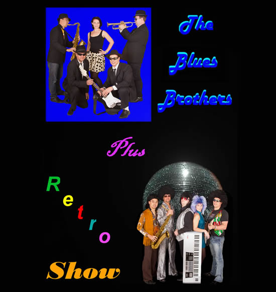 THe Blues Bros and Retro Show